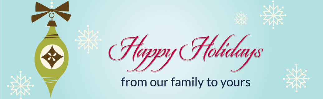 Happy holidays from our family to yours